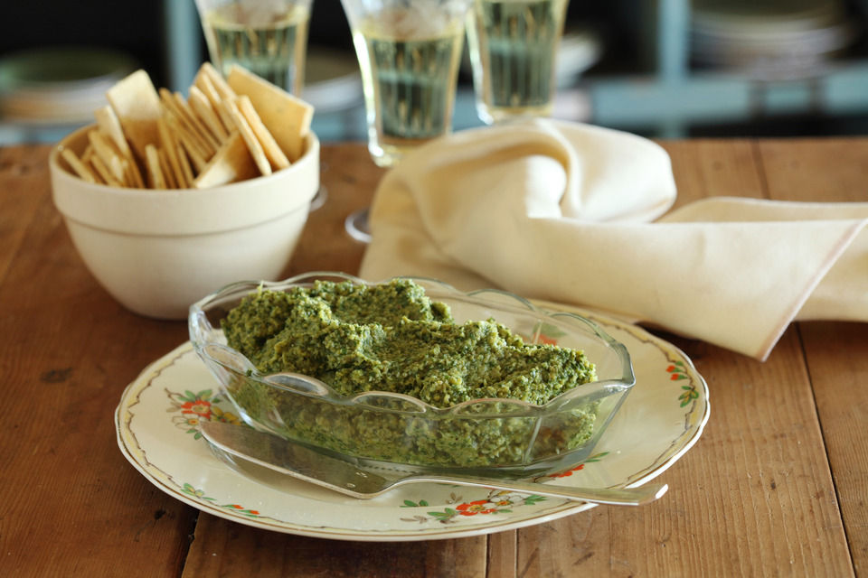 Artichoke, Green Olive and Preserved Lemon Dip - Maggie Beer