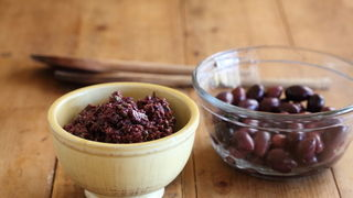 Olive Tapenade with Red Wine Vinegar