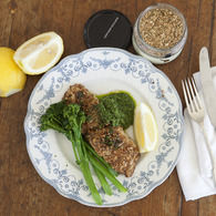 Dukkah_crusted_snapper_with_kale_pesto_overheadshot__2__approved_recipes_thumbnail
