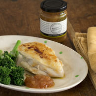 Poached_buttermilk_chicken_breast_with_mustrad_pears_and_broccolini__2__approved_recipes_thumbnail