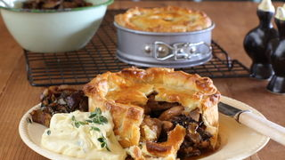Rabbit, Prune & Pancetta Pies