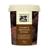 Chocolate & Salted Caramel Ice Cream