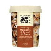 Burnt Fig, Honeycomb & Caramel Ice Cream