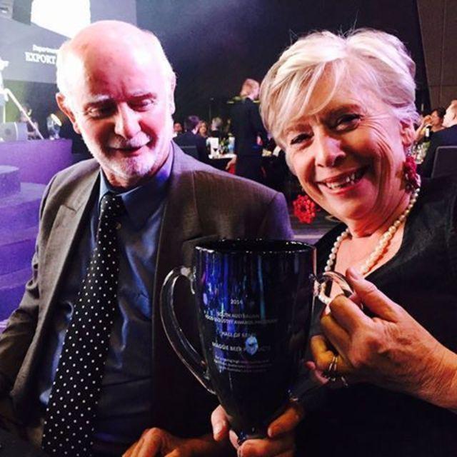 Maggie & Colin SA Awards Hall of Fame 2014