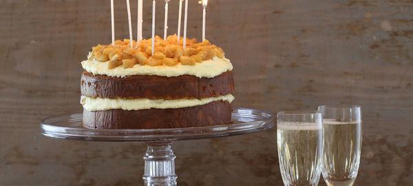 Verjuice birthday cake 41