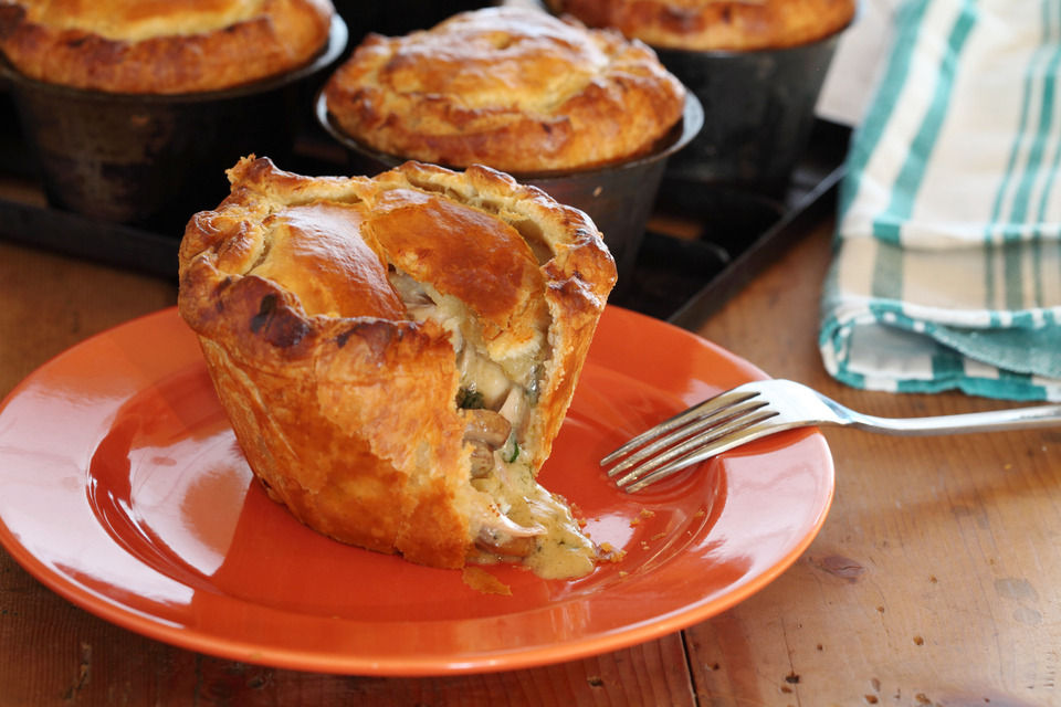 Country Chicken And Mushroom Pies Maggie Beer