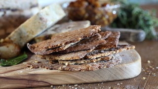 Buckwheat Walnut Flatbread